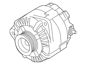 Alternator - Infiniti (23100-3JA1ARE)