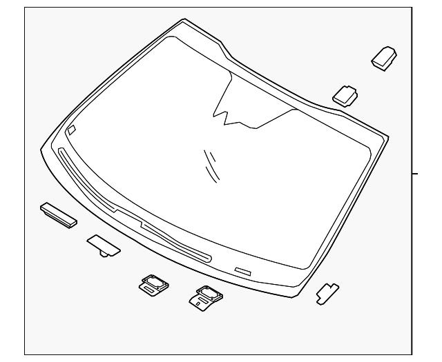 1b0122497f03d3b828b398d1f86066f8 windshield kia (86110 d5100) ricar parts