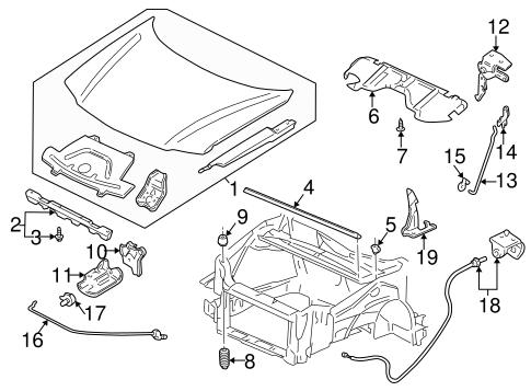 2000 pontiac montana engine diagram belt hood   components for 2000 pontiac montana gmpartonline  components for 2000 pontiac montana