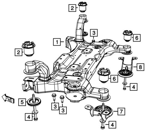 Dodge Caliber Repair Front Suspension