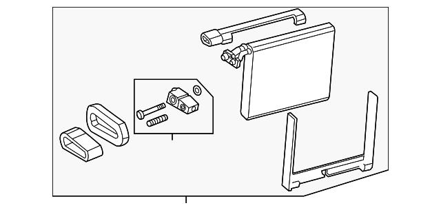 Genuine GM Evaporator Core 23281450 Ebay. Genuine Gm Evaporator Core 23281450. GMC. 2001 GMC Yukon Evaporator Diagram At Scoala.co