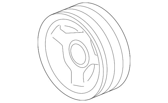 2009-2015 GM Vibration Damper 12674581 | GM Parts