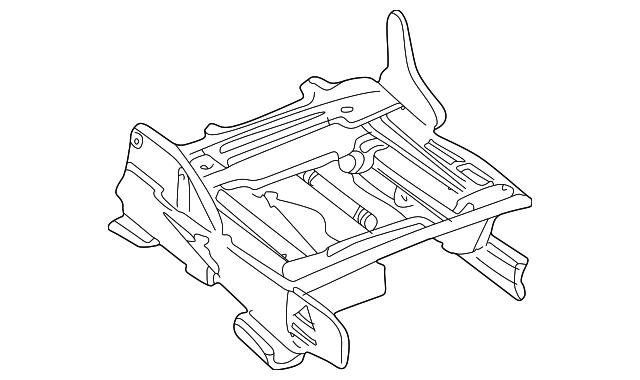 2004 2006 Ford Seat Track 4w7z 5461710 Ab