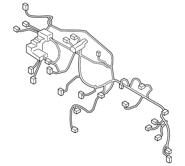 2016 hyundai tucson wire harness 91110