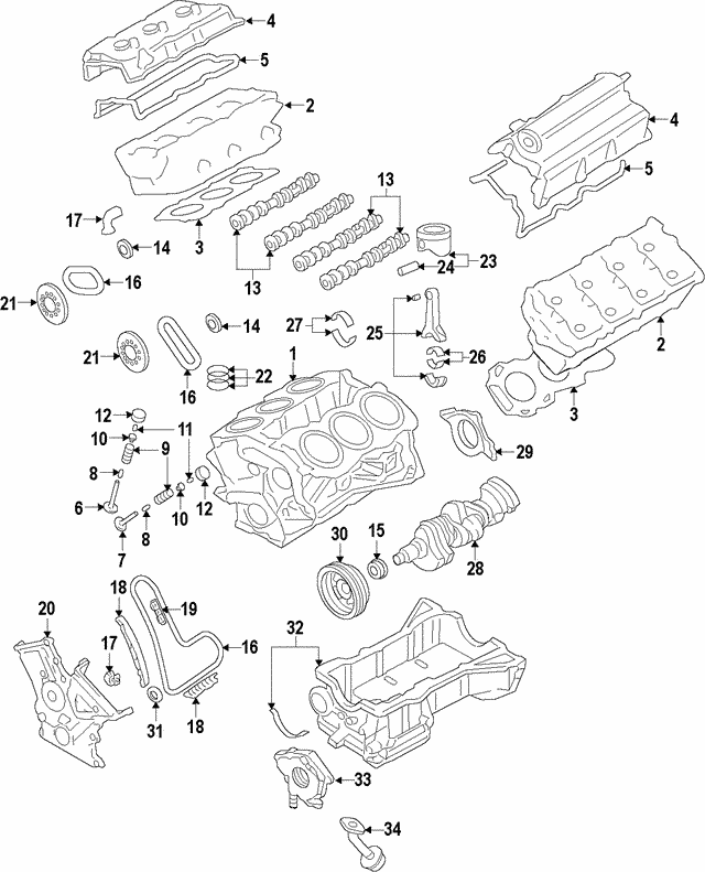 2007-2019 ford valve seals bl3z-6571-a | ford store morgan hill  ford store morgan hill
