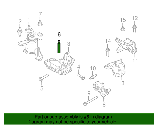 Ford Fusion Engine Mount Diagram Wiring Diagram Sq