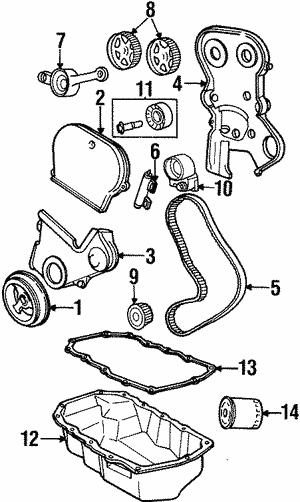Engine Parts For 1997 Chrysler Sebring