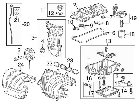 Engine Parts for 2017 Chevrolet Malibu | GM Parts CenterGM Parts Center