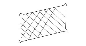 Cargo Net - Mercedes-Benz (210-814-00-07-8J17)