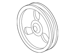 Pulley - GM (12559890)