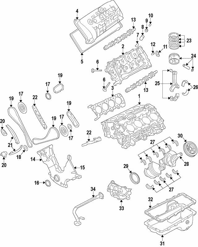 Timing Chain - Ford (7R3Z-6268-AA)
