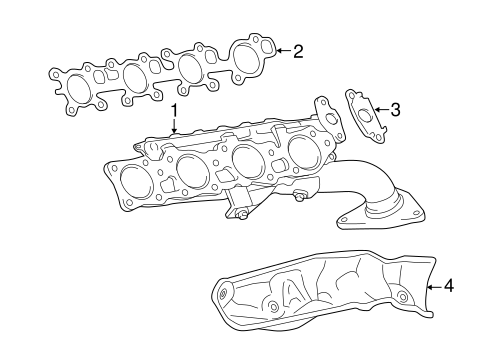 Exhaust Manifold For 2015 Toyota Tundra
