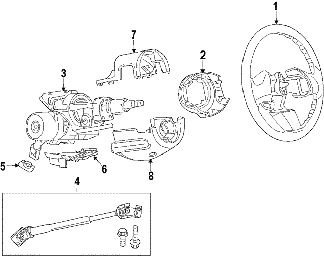 SHAFT-STEERING COLUMN INTERMEDIAT