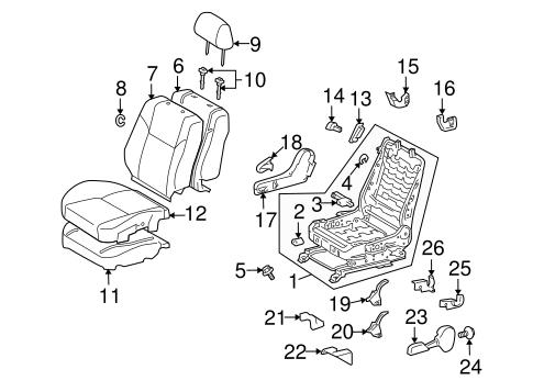 TOYOTA Genuine 71873-21010-B0 Seat Cushion Shield