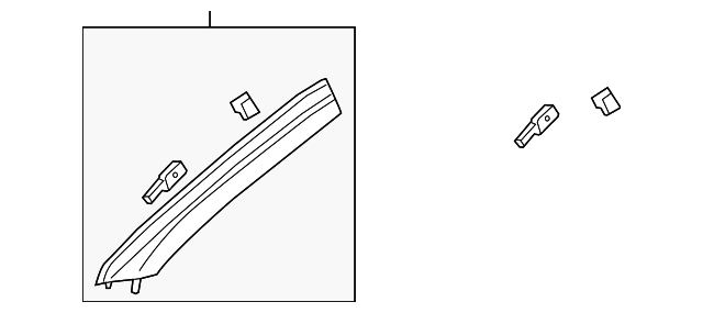 windshield pillar trim