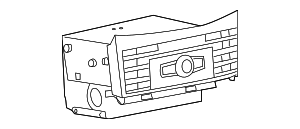 Radio - Mercedes-Benz (212-900-74-27)
