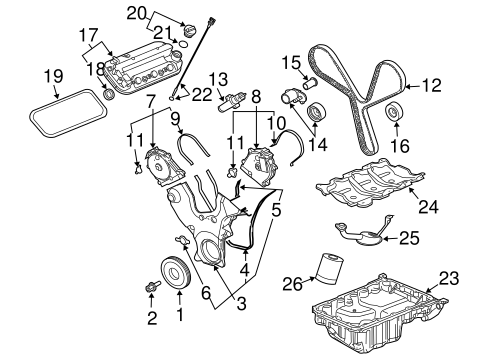 Other Gm Parts together with Engine Parts Scat together with 2011 Chevrolet Impala Oil Filter Bolt Seal Install moreover  on 2006 saturn vue oil pan gasket