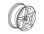 Wheel, Alloy - GM (23220754)