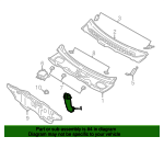 Insert Panel Drain Hose - Ford (5F9Z-7401523-AA)