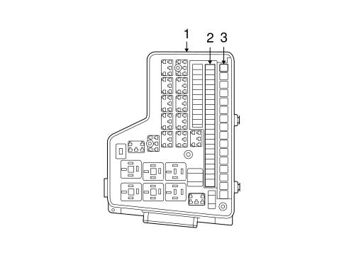 fuse relay for 2006 dodge ram 2500 parts wermopar. Black Bedroom Furniture Sets. Home Design Ideas