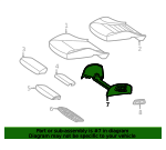Seat Support - Mercedes-Benz (2539105109)