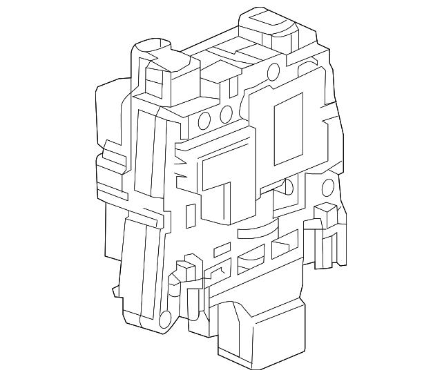 Main Relay Block Gm 24282515 Gmpartshouse