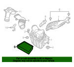 Air Filter - Land-Rover (LR029078)
