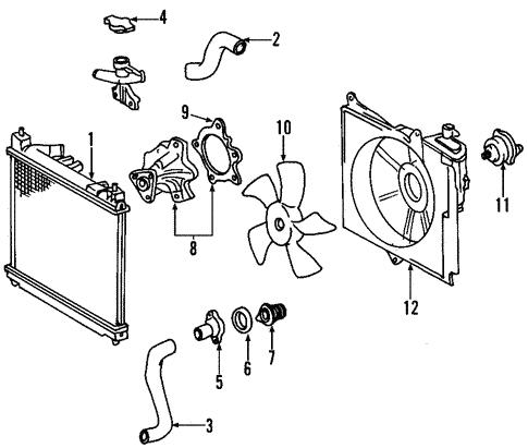 Toyota OEM Engine Coolant Thermostat Gasket