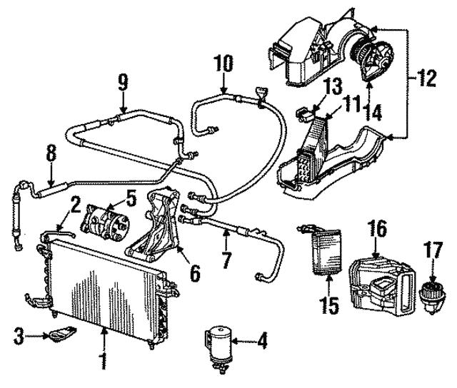 1985 1988 Volkswagen Compressor Mount Bracket 068 903 141 T