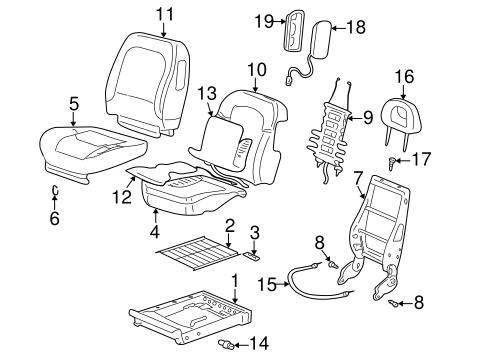 Gm Seat Cushion Pad 88899768