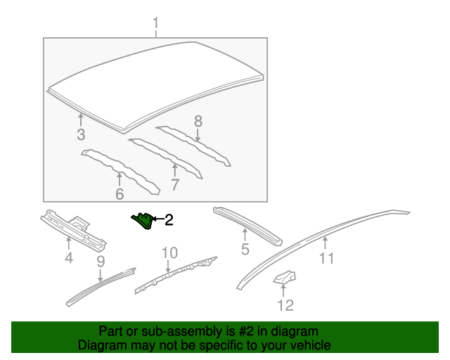 Roof Assembly Bracket