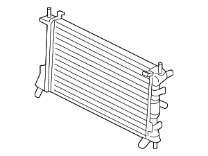 Radiator - Ford (5S4Z-8005-AC)