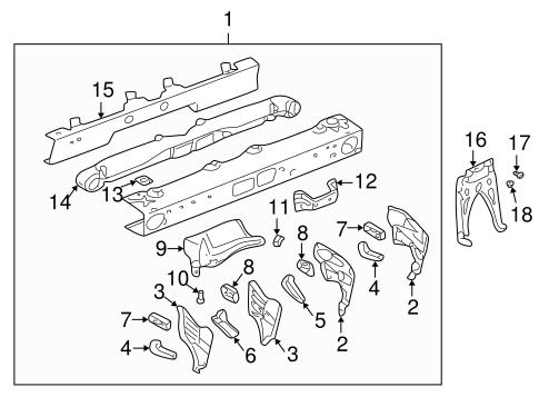 instrument panel components for 2001 pontiac aztek
