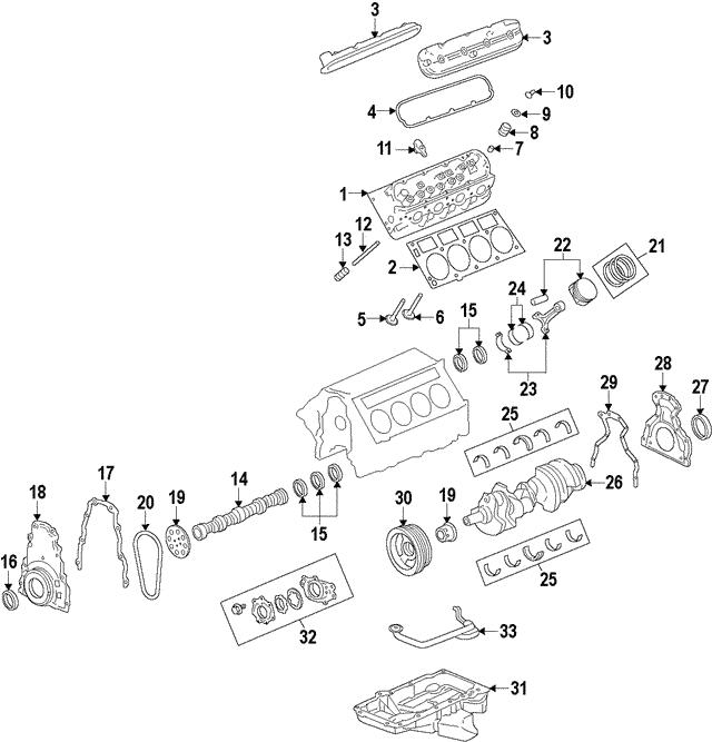 Cadillac Head Gasket Repair: Head Gasket - GM (12657969)