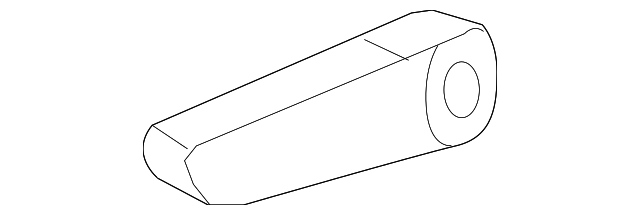 Rear Left Honda Genuine 82531-SHJ-A41ZB Seat Cushion Trim Cover