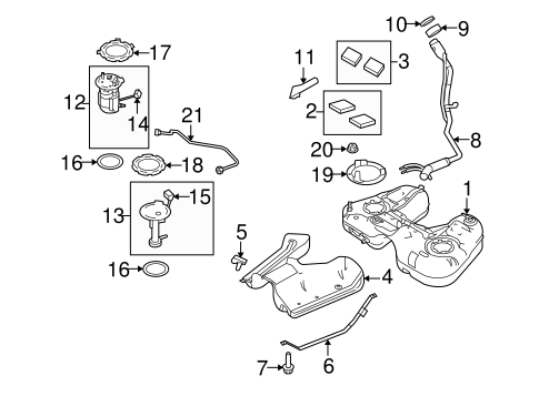 2011 ford taurus engine diagram fuel system components for 2011 ford taurus bo beuckman quality ford  fuel system components for 2011 ford