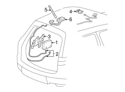 chevy traverse radio wiring diagram lexus rx300 wiring
