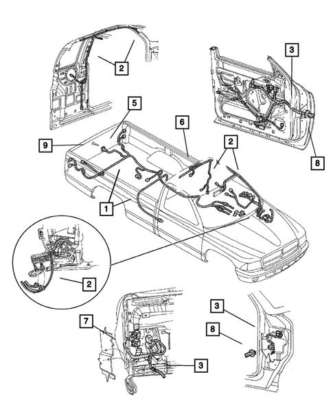 dodge dakota overhead console wiring diagram wiring body   accessories for 2003 dodge dakota big mopar parts  2003 dodge dakota