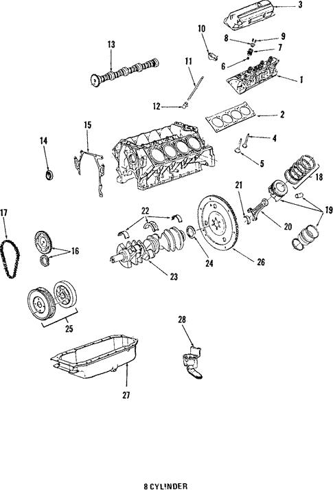 Oil Pump For 1988 Cadillac Deville Gm Parts Online