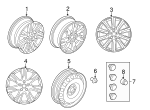 Wheel, Alloy - Land-Rover (LR008547)