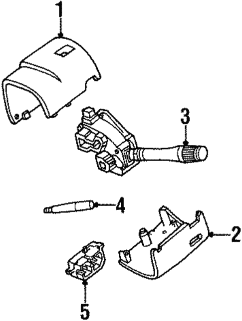 Steering Column For 1998 Lincoln Continental