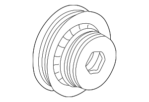 Pulley, Crankshaft - Honda (13810-PEA-007)