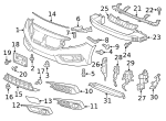 Plate, L Front Bumper Side Induction - Honda (71206-TBC-A00)