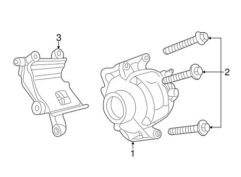 Alternator For 2005 Dodge Stratus