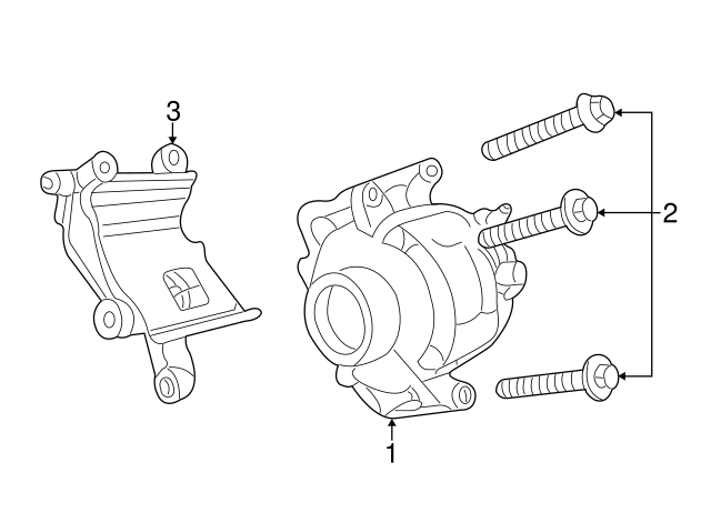 Compressor Assembly Screw
