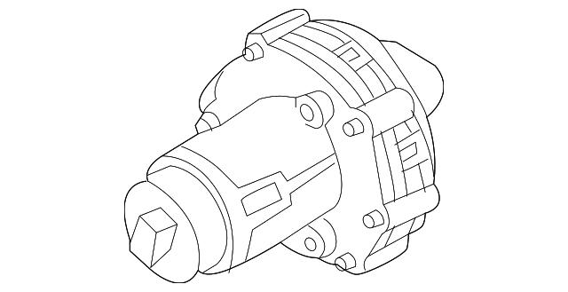 2004 2009 Audi A I R Pump 079 906 601 E