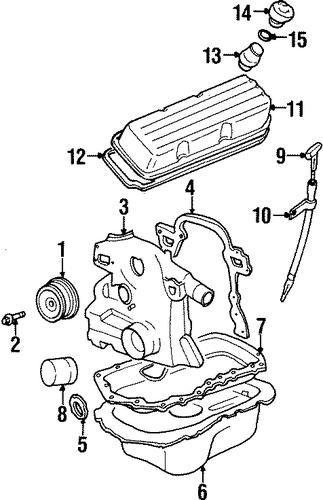 Engine Parts 1999 Buick Lesabre Oem New Gm Parts