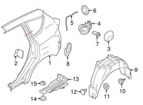 Ford Pressure Vent 7n5z58280b62d