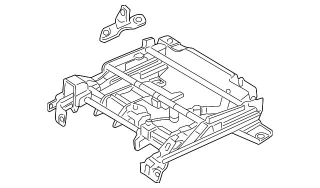 genuine ford track assembly ah6z