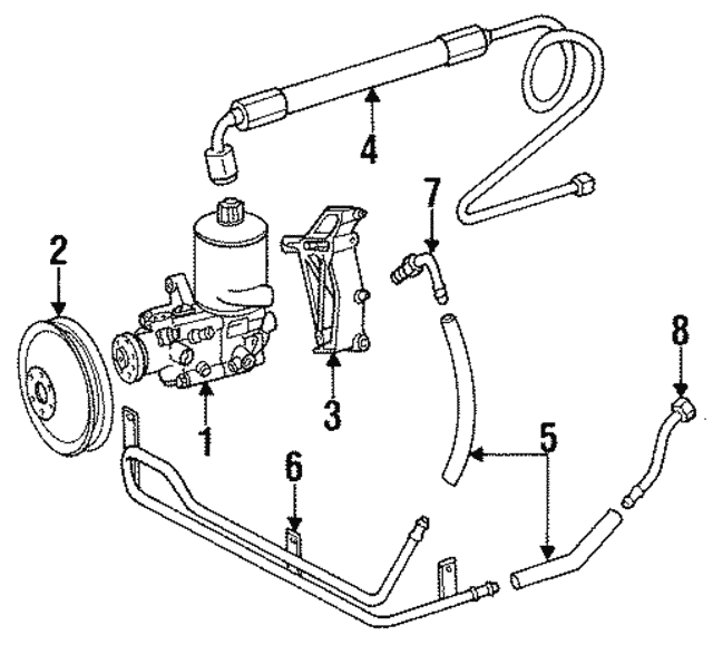 Pulley - Mercedes-Benz (201-460-04-79)